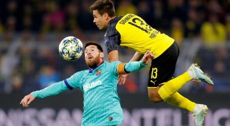 Barcelona speelt bij rentree Messi doelpuntloos gelijk tegen Dortmund