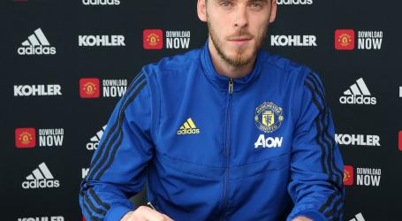 De Gea verlengt contract bij Manchester United