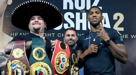 Joshua haalt inspiratie uit bokslegende Briggs voor rematch tegen Ruiz
