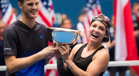 Bethanie Mattek-Sands en Jamie Murray grijpen wéér de titel in New York