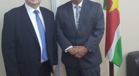 Minister Elias ontvangt delegatie Rusland