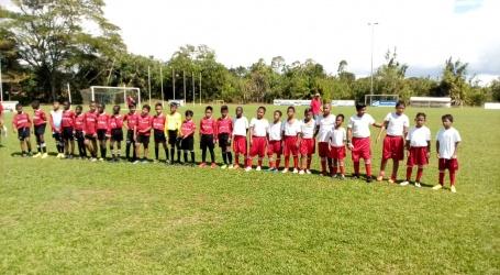 Werkbezoek Ajax aan Nacional Soccer Academy Suriname (NSA)