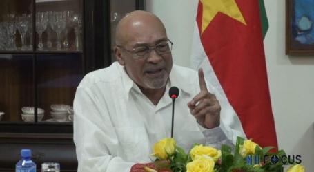 President Bouterse stelt minstens twee buitenlandse reizen in vooruitzicht