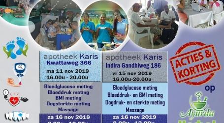 "Apotheek Karis houdt ""diabetes en familie"" gezondheidsbeurs"