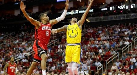 Geplaagde Golden State Warriors verliezen ook van Houston Rockets