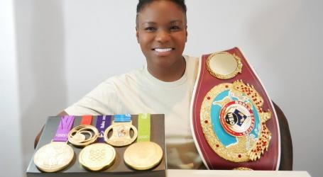 Olympisch bokskampioene Adams stopt uit vrees voor verlies van zicht