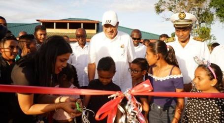 Jarikaba ook voorzien van multipurpose kunstgrasveld