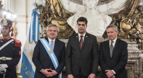 VP Adhin aanwezig bij inauguratie nieuwe Argentijnse President