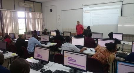 Werkarmen RO volgen training digitalisering districtsplannen