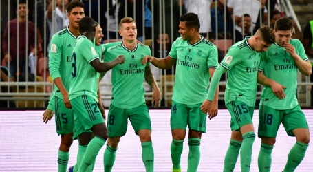 Real Madrid plaatst zich voor finale SuperCopa