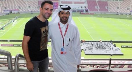 Xavi erkent gesprek met Abidal: 'Trainer zijn van Barcelona is mijn droom'