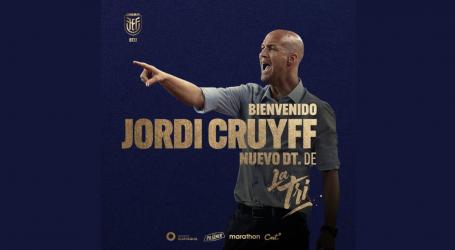 Jordi Cruijff bondscoach van Ecuador
