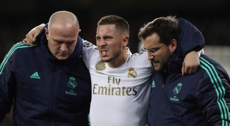 Hazard keert nog niet terug bij Real Madrid