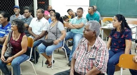 Voorlichtingsbijeenkomst pesticiden gebruik in ressort Pomona