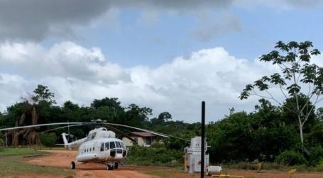 Russische helikopter alleen voor ontwikkelingsprojecten