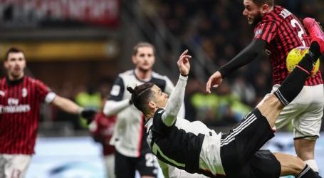 Ronaldo redt Juventus en De Ligt na belabberd optreden in San Siro