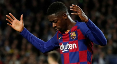 Barcelona wil vervanger voor geblesseerde Dembélé halen
