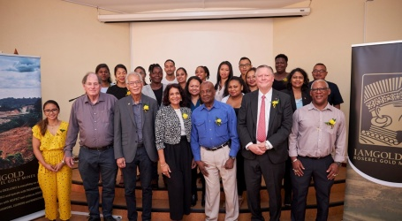 Afscheid IAMGOLD topman Stephen Letwin met gastcollege voor studenten Geowetenschappen