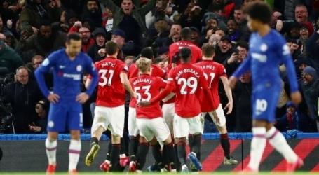 Chelsea beleeft frustrerende avond en gaat onderuit tegen United