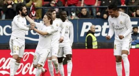 Real Madrid maakt geen fout aan kop in La Liga