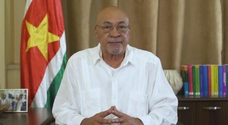 President Bouterse presenteert maatregelen in verband met verkiezingen