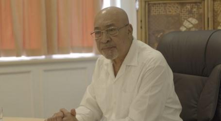 President roept op goede reputatie Suriname hoog te houden