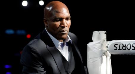 Holyfield (57) staat open voor derde gevecht met oude rivaal Tyson