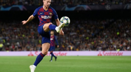 De Jong nog steeds niet fit en mist topper tegen Atlético