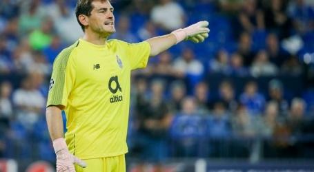 Porto neemt via video afscheid van Casillas,