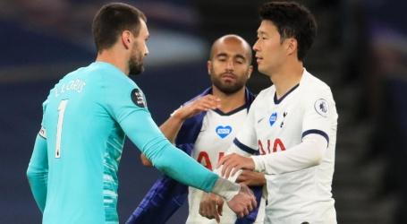 Mourinho geniet van ruzie tussen Son en Lloris: 'Ik hoef geen Fair Play Cup'