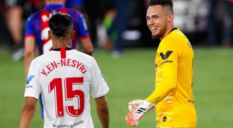 Sevilla op Champions League-koers dankzij keepende matchwinner Ocampos