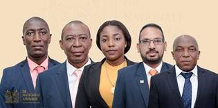Vijf leden toegelaten tot De Nationale Assemblée