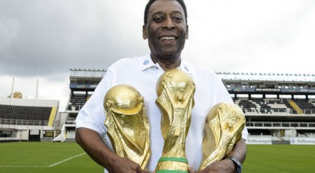 Pelé de beste voetballer allertijden  is  vandaag 80 jaar oud geworden.