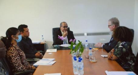 Nederlandse zaakgelastigde brengt kennismakingsbezoek aan minister LVV