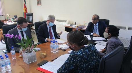 Braziliaanse ambassadeur brengt kennismakingsbezoek aan minister LVV