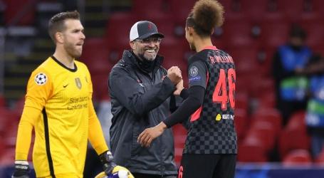 Klopp blij met strijdlust Liverpool op 'zwaar veld' in Johan Cruijff ArenA