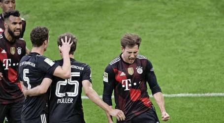 Bayern zet megastap richting negende Duitse landstitel op rij na zege op Leipzig.