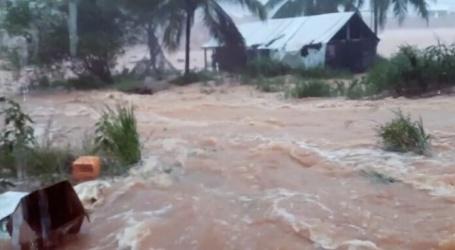 Pikin Saramaccabrug weggespoeld