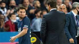 PSG-coach Pochettino na wissel balende Messi: 'Hebben selectie van 35 man'