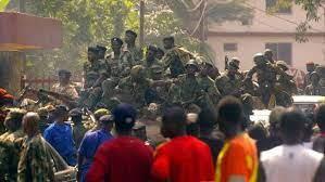 Vermoedelijk couppoging in Guinee